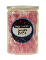 Twirly Pops 24 ct Jar - Pink