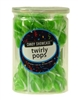 Twirly Pops 24 ct Jar - Green