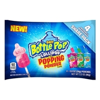 Baby Bottle Pop Lollipop - Popping Powder - 18/box