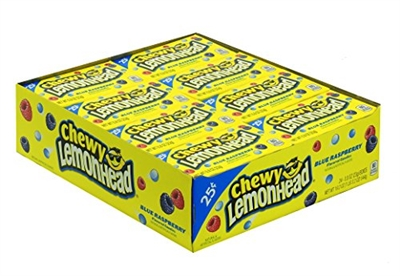 Chewy Lemonheads Blue Raspberry - 24/box