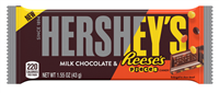Hershey's Milk Chocolate & Reese's Pieces