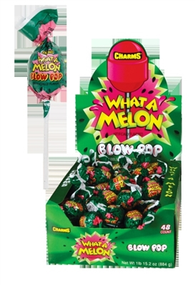 Charms Blow Pop What-a-Melon - 48/box