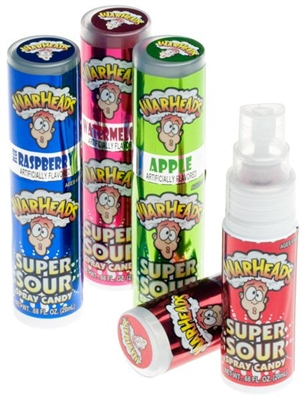 Warheads Sour Spray - 12/box