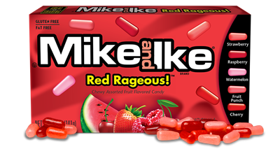 Mike & Ike Red Ragous - 24/box