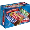 M&M's Chocolate Variety Shoebox-18/box