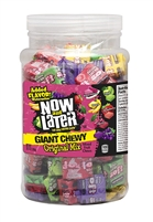 Now and Later Giant Chewy Assorted - 120/Jar