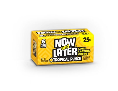 Now and Later Changemaker Tropical Punch - 24/box