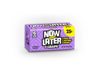 Now and Later Changemaker Grape - 24/box