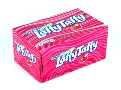 Laffy Taffy Bars Strawberry- 24/box