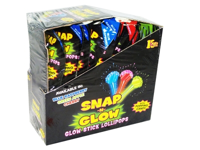 Snap and Glow Popping Pops - 18/box