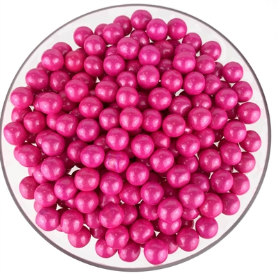 Color it Candy Sixlets Shimmer Bright Pink - 2lb