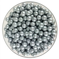 Color it Candy Sixlets Shimmer Silver - 2lb