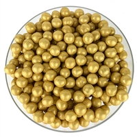 Color it Candy Sixlets Shimmer Gold - 2lb