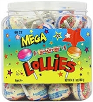 Mega Double Lollies - 60/box