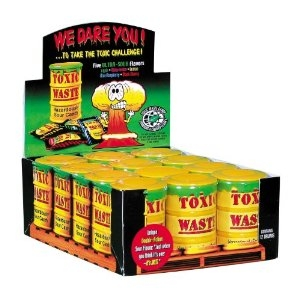 Toxic Waste Candy Filled Drums - 12/box