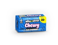 Now and Later Chewy Blue Raspberry - 24/box