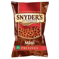 Snyder's Mini Pretzels - 1.5oz/60ct