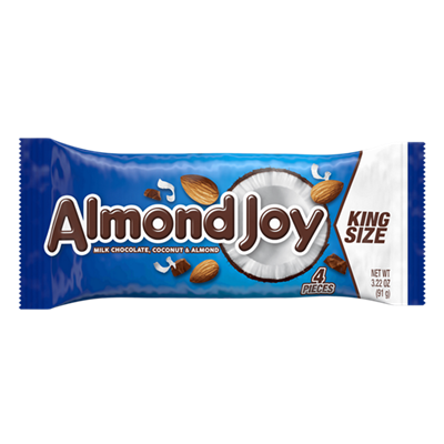 Almond Joy King Size - 18/box