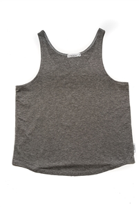 Lightweight Scoop Neck Tank - Grey