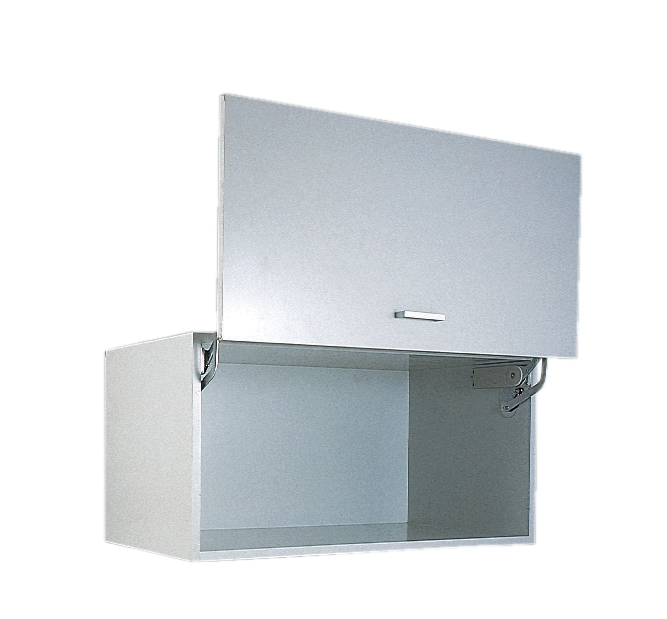 sc 1 st  Cabinethardware.com & Vertical Swing Lift-Up Mechanism for Door w/ Guide Bar - Nickel/ Grey