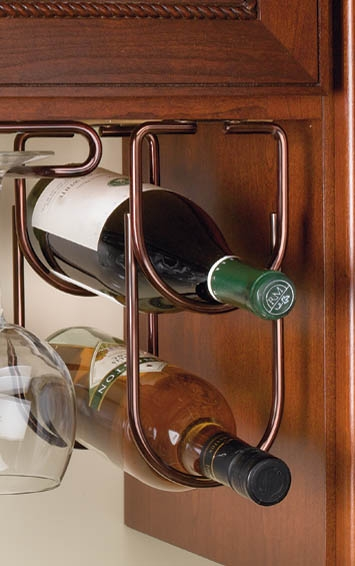 Wine Bottle Rack Double Under Cabinet Organizer 4 14w X 58d X