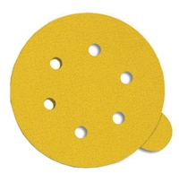 "5"" PSA Pull-Tab Sanding Disc (5 Dust Hole)"