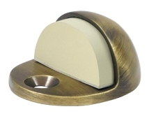 "1 3/4"" x 1"" Low Profile Dome Door Stops (Floor)"