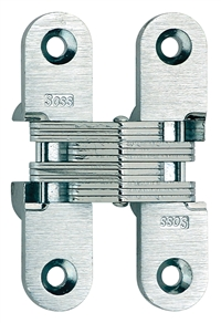 SOSS 208 Invisible Hinges for 1""