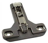 Salice Clip-on Mounting Plates (Titanium)  - Wood Screw