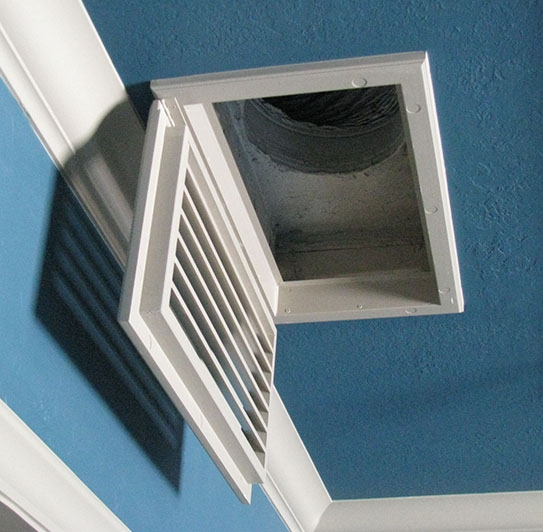 Ceiling Return Air Grille : Ceiling mount return air grilles basswood