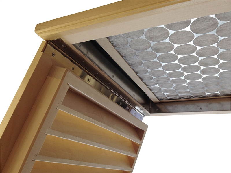 Ceiling Mount Return Air Grilles Basswood