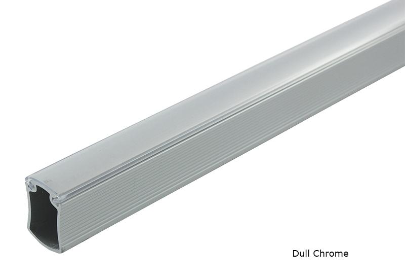 Aluminum Concave Closet Rods ...