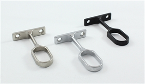 Center Support for Aluminum Oval Closet Rods