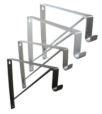 Rod Support and Shelf Bracket for Oval Rod