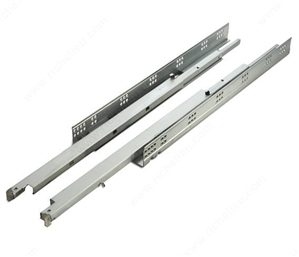 RIC 815, 75 lb Full Extension Soft Close Under Mount Drawer Slide