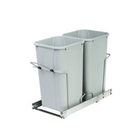 Double Pull Out Waste Container BB Soft Close