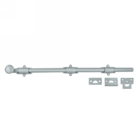 "18"" Decorative Dutch Door Bolt Heavy Duty"