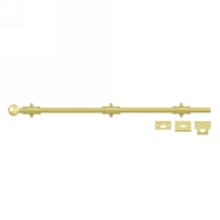 "24"" Decorative Dutch Door Bolt Heavy Duty"