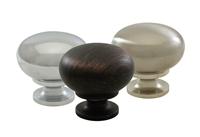 Zinc Hollow Knobs