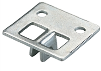 Shelf Center Rest (For KV 187 Bracket) - Anodized