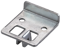 Shelf Front Rest (for KV 187 Bracket) - Anodized