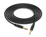 "Gotham GAC-1 Ultra Pro Instrument Cable | Guitar Bass & Keyboard w/ Neutrik Gold 1/4"" TS"
