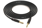"Canare GS-6 Instrument Cable | GS-6 & Neutrik Gold 1/4"" Unbalanced TS"