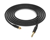 RCA to 1/4' TRS Cable | Made from Grimm TPR & Amphenol Gold & Neutrik Gold Connectors