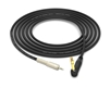 "1/8"" Mini TRS to 90º Right-Angle 1/4"" TRS Cable 