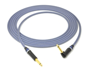 Signature Series Instrument Cable | Made from Canare Quad & Neutrik Gold Connectors w/ 1 90º Right-Angle