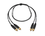 2-Channel Analog Snake | Made from Mogami 2930 & Amphenol Gold RCA | Premium Finish ( Harness Loom )
