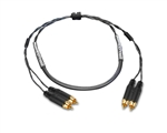 2-Channel Analog Snake | Made from Mogami 2930 & Amphenol Gold RCA to RCA | Standard Finish ( Harness Loom )