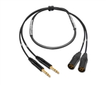 "2-Channel Analog Snake | Made from Mogami 2930 & Neutrik Gold 1/4"" TRS to XLR-Male 