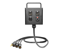 4-Channel Studio Wall Box / Stage Box | Made from Mogami 2931 & Neutrik Gold Connectors | Premium Finish